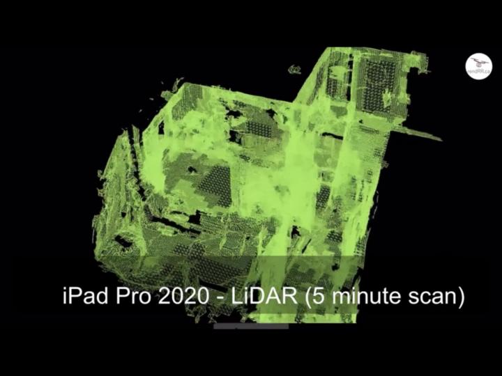 iPad Pro Gen 4 – LiDAR